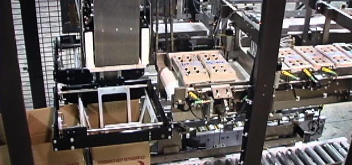 食用油装箱机